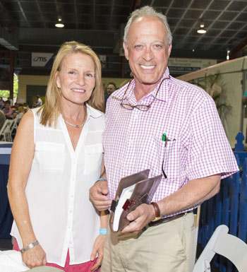 Kip and Helen Elser at Magic Millions